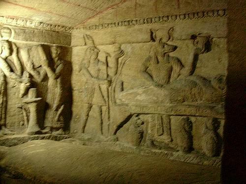 Dans les catacombes de paris 9