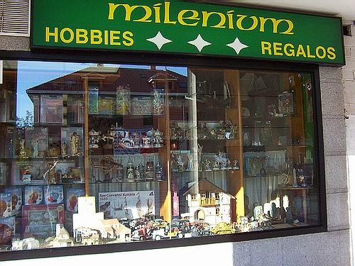 Milenium hobbies y regalos - Libreria torrejon de ardoz ...